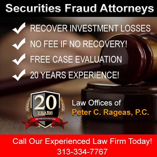 Experienced Securities Fruad Attorney in Wayne County MI
