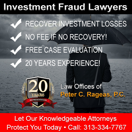 Canton MI Investment Losses Attorney