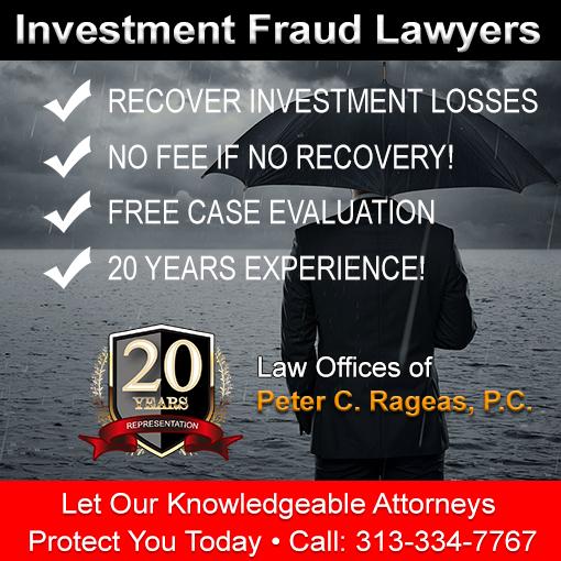 Canton MI Investment Losses Attorney